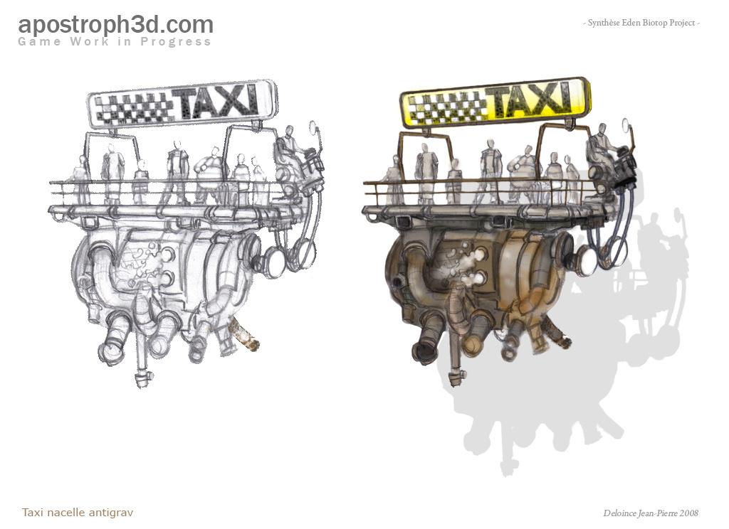 Taxi antigrav
