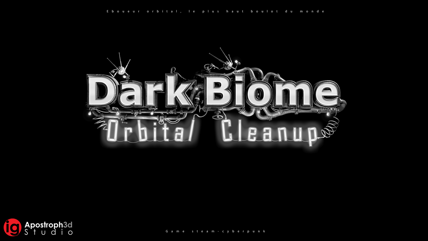 Logo Dark Biome Orbital Cleanup